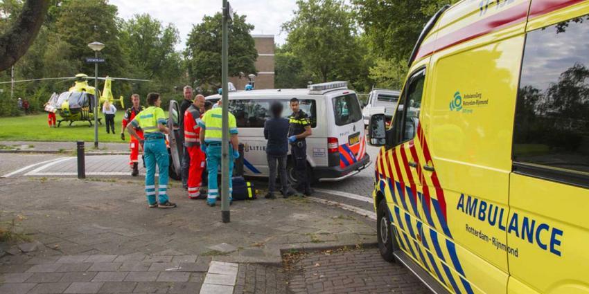 Jongen (16) gewond aan rug na steekincident