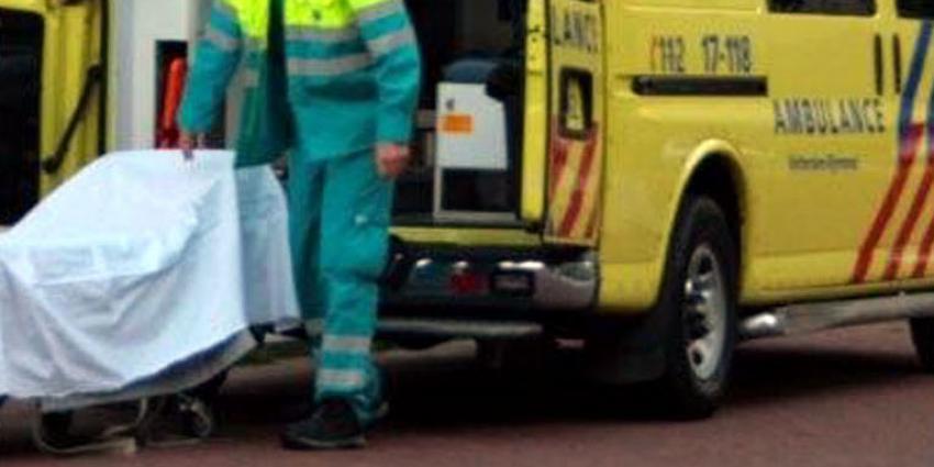 Man overleden bij ongeluk A22