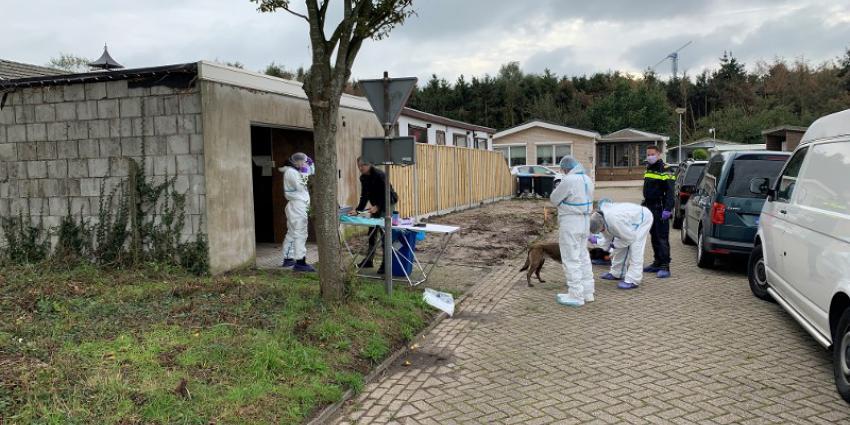 Zoeking door politie in Steenbergen