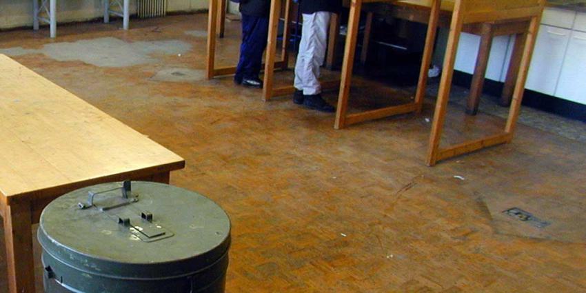 Mooie weer zorgt mede voor hoger opkomstpercentage bij stembureaus