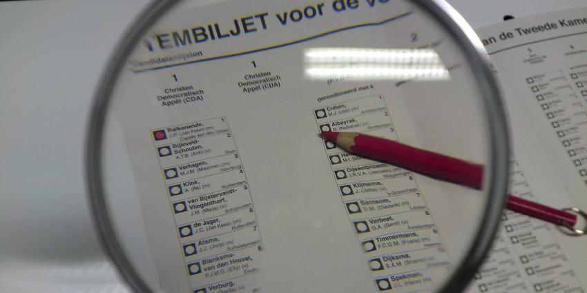 Hertelling Statenverkiezingen Flevoland