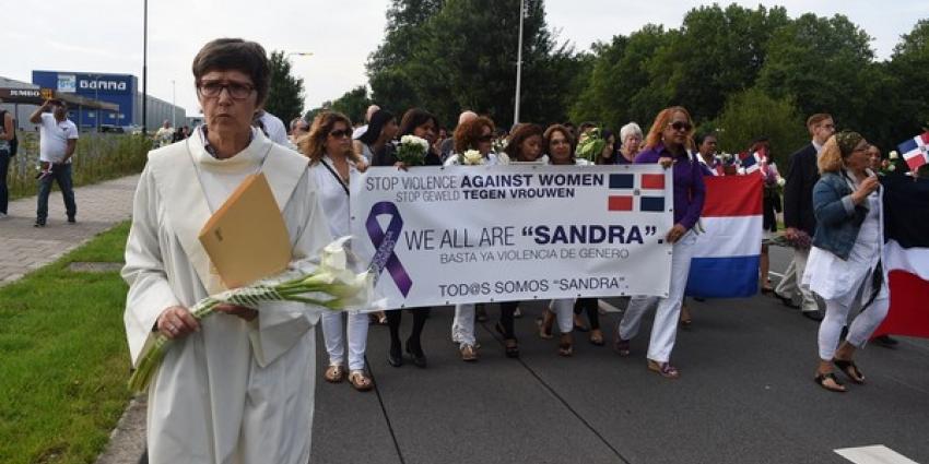 Stille tocht voor vermoorde Sandra García Geraldino