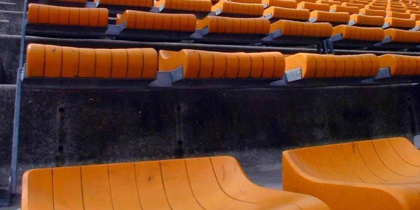 Foto van stoel stadion | Archief EHF