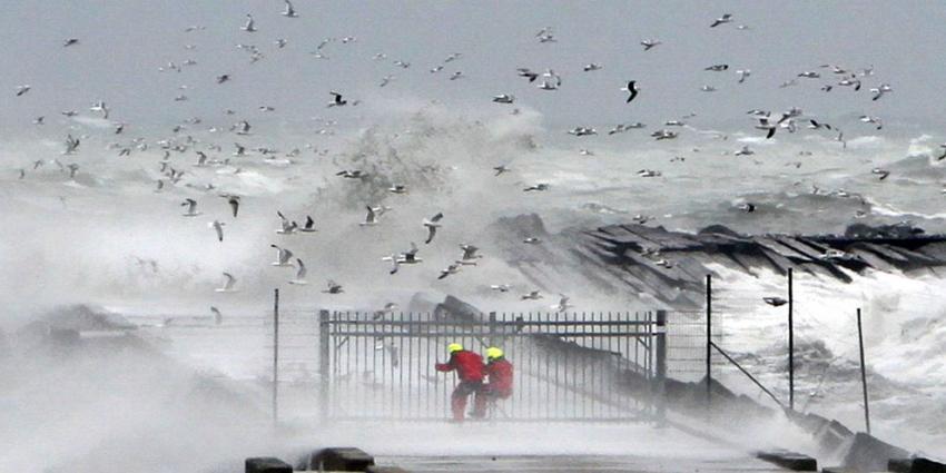 Code geel voor zware windstoten in Zeeland