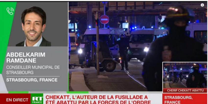 Verdachte terreuraanslag Straatsburg gedood tijdens vuurgevecht met de politie
