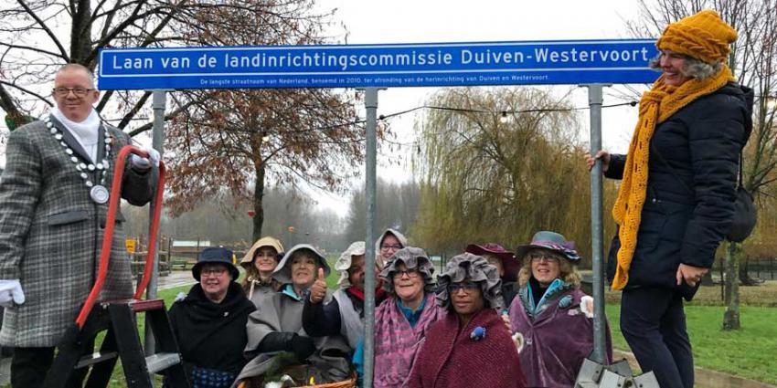 Langste straatnaam van Nederland is voor Duiven-Westervoort