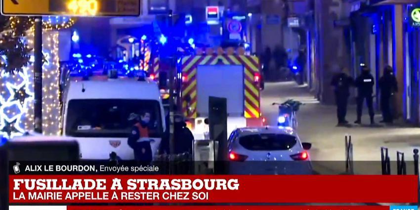 Dode en zes gewonden schietpartij kerstmarkt Straatsburg