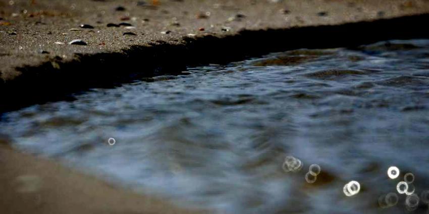Foto van strand, zand en water | Archief EHF