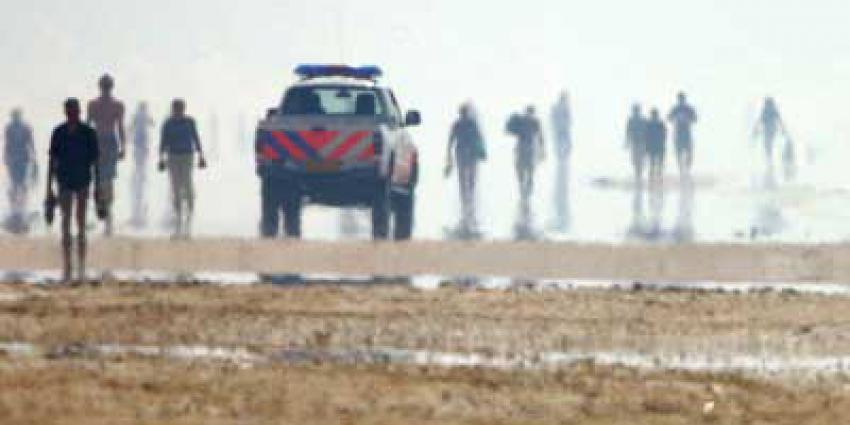 Lichaam aangespoeld op strand in Zandvoort