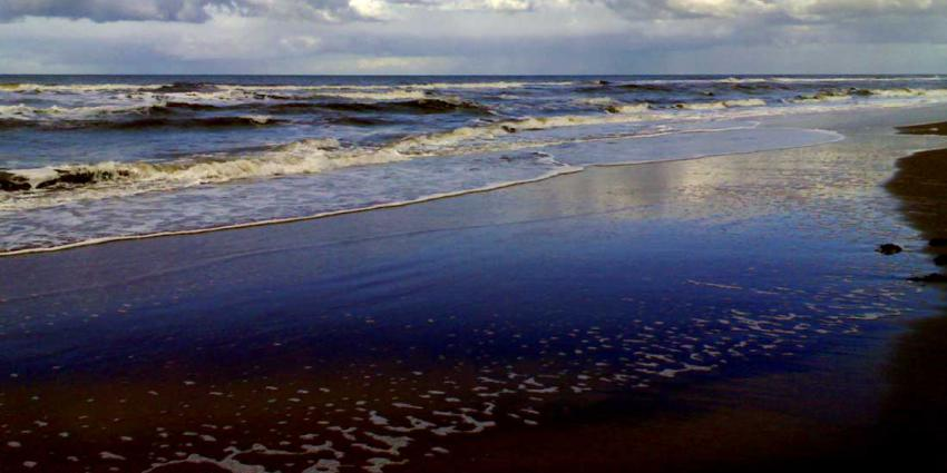 Zeelucht bij strand