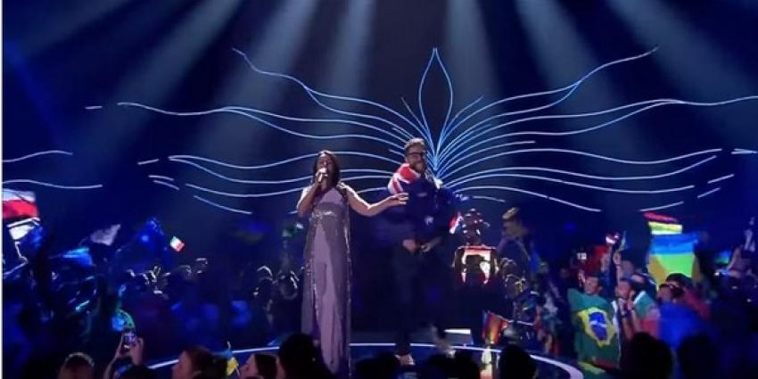 Streaker op Eurovisie Songfestival geen Australische fan