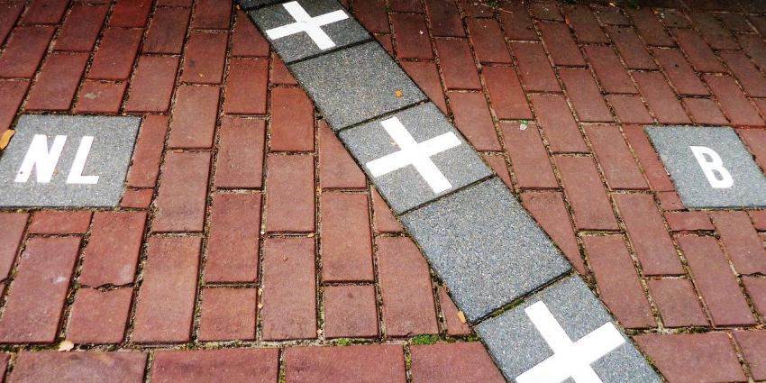 Grens Nederland - België