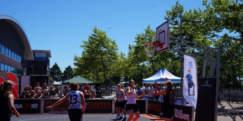 Streetball Masters tour Heerenveen succesvol verlopen