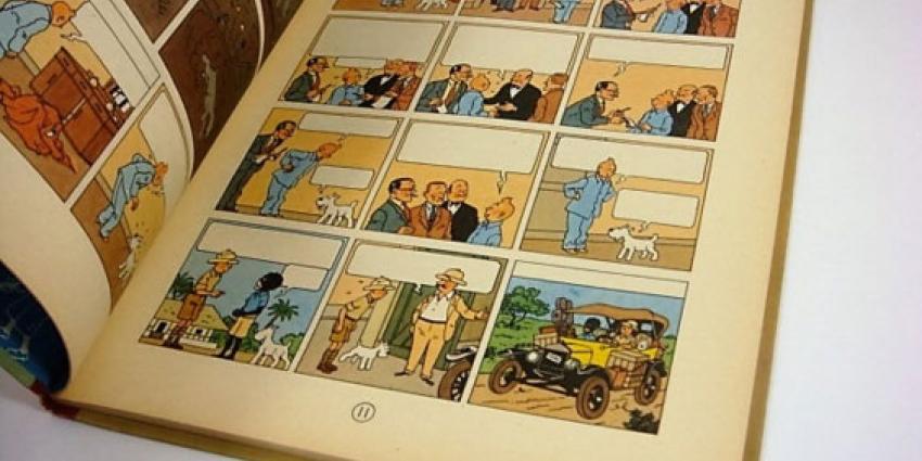 Veilprijs stripboek 'Kuifje in Afrika' zonder tekst geschat op 60.000 euro