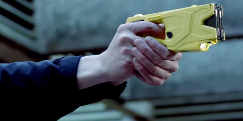 Stroomstootwapen voor het eerst ingezet bij aanhouding