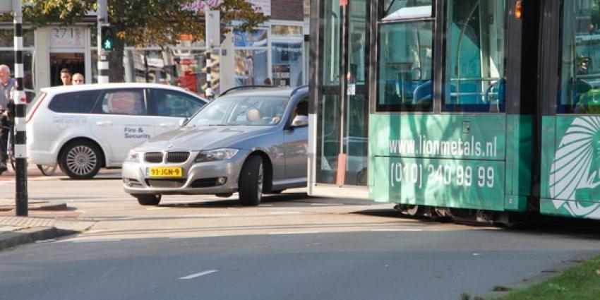 Problemen tramverkeer Rotterdam door ongeval monteur weer verholpen