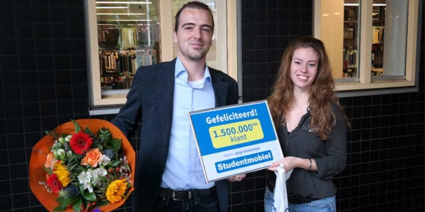 1.500.000 klanten bij Studentmobiel