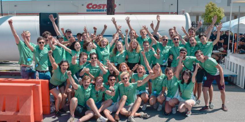 studenten, delft, vierde plaats, spaceX hyperloop pod competitie