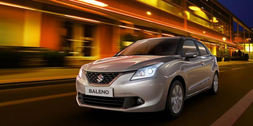 Baleno is Suzuki's nieuwe compacte hatchback