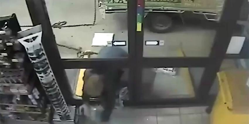 Inbreker vergeet cruciale handeling bij diefstal geldautomaat