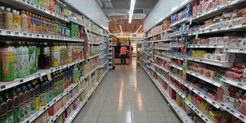 Gangpad supermarkt