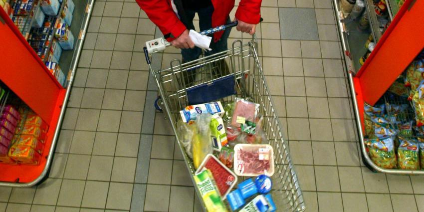Drugspakketten in supermarkt onderschept