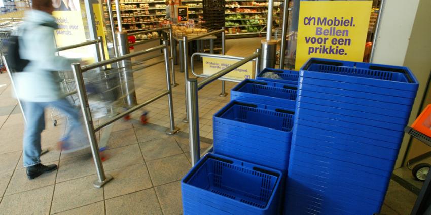 Mannen overvallen drukke supermarkt in Breda