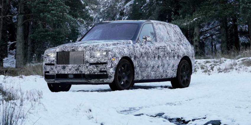 Luxueuze SUV Rolls-Royce heet Cullinan