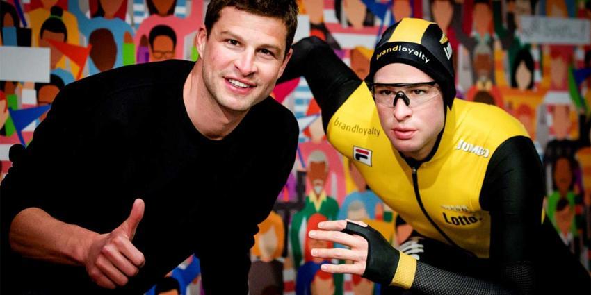 'Bevroren' Sven Kramer te bewonderen in Madame Tussauds
