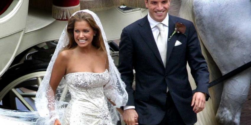 Foto huwelijk Sylvie en Rafaël van der Vaart | Archief FBF.nl