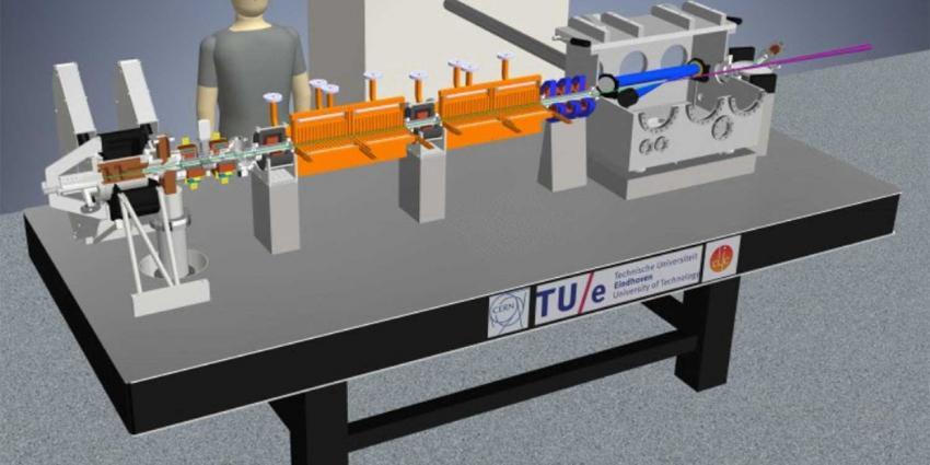TU/e onderzoekt bouw 'tafelmodel' deeltjesversneller