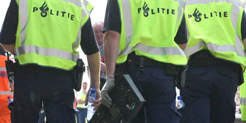 Foto van tachograaf vrachtwagen politie | Archief EHF