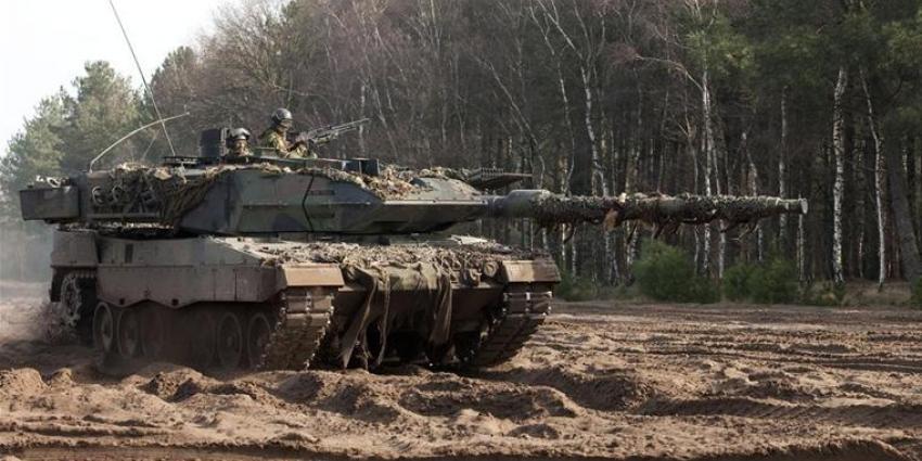 foto van tank | Defensie