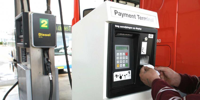 Aantal onbemande tankstations overstijgt het aantal bemande tankstations
