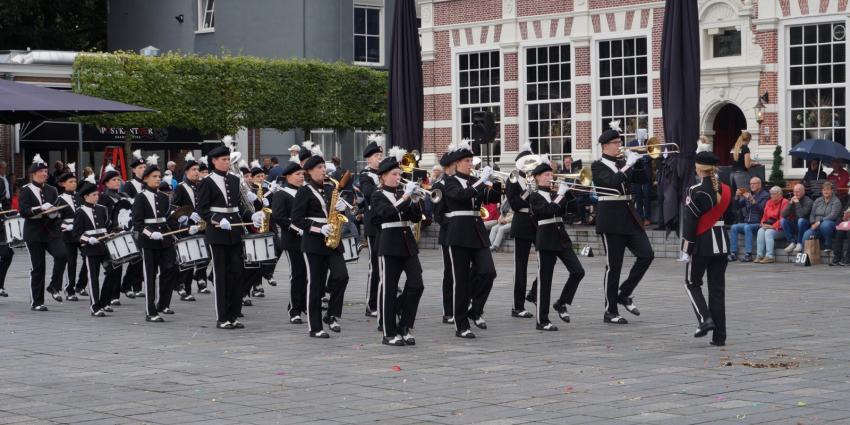 Taptoe in het centrum van Heerenveen