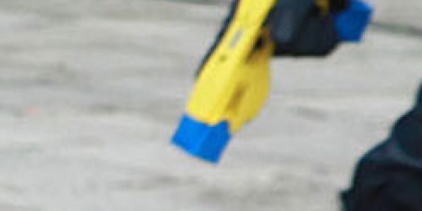 Belgische politie wil gaan staken vanwege proef met taser