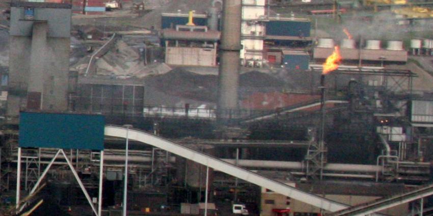 Grote brand op het terrein van staalproducent Tata Steel