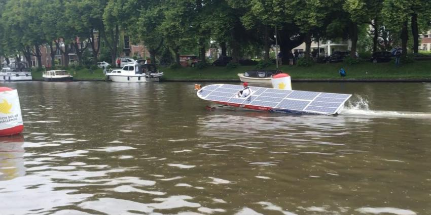 Team CLAFIS Victron wint Dutch Solar Challenge