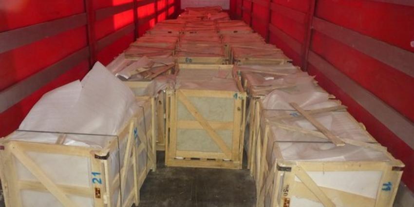 180 kilo heroïne in marmeren tegels