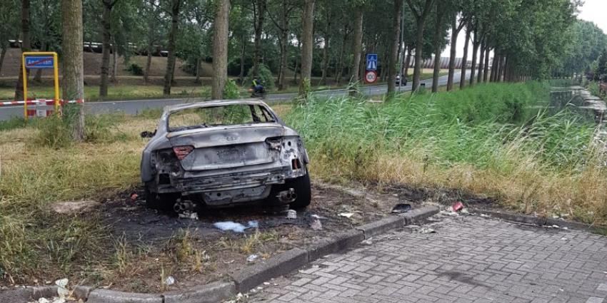 Vluchtauto aanslag Telegraaf gestolen in Woerden