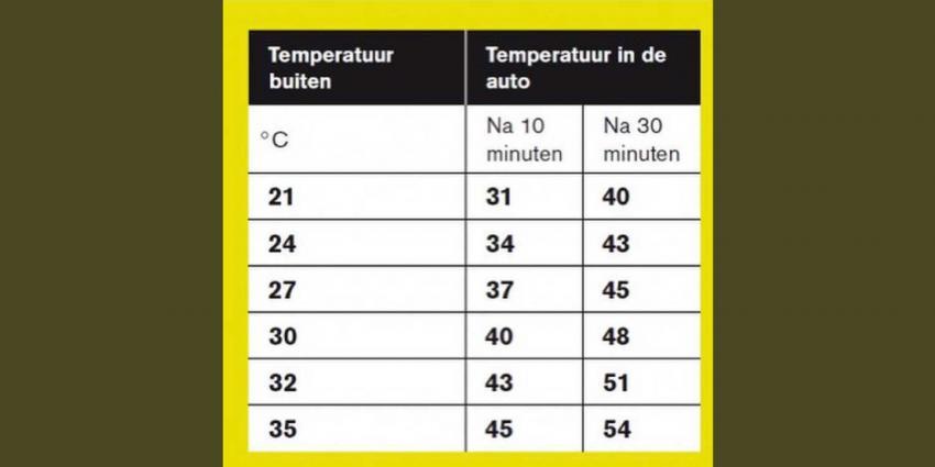 temperatuur-auto-zon