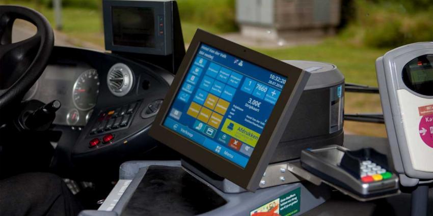 Proef met Ticketbox uitkomst voor contantloos betalen in de bus