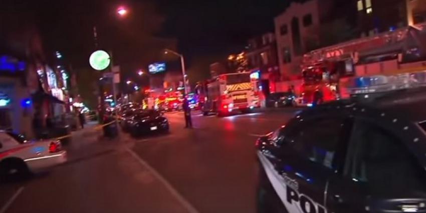 Twee doden en 13 gewonden bij schietpartij in Toronto