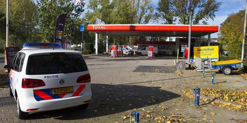 Foto van overval op tankstation | Persburo Sander van Gils | www.persburausandervangils.nl