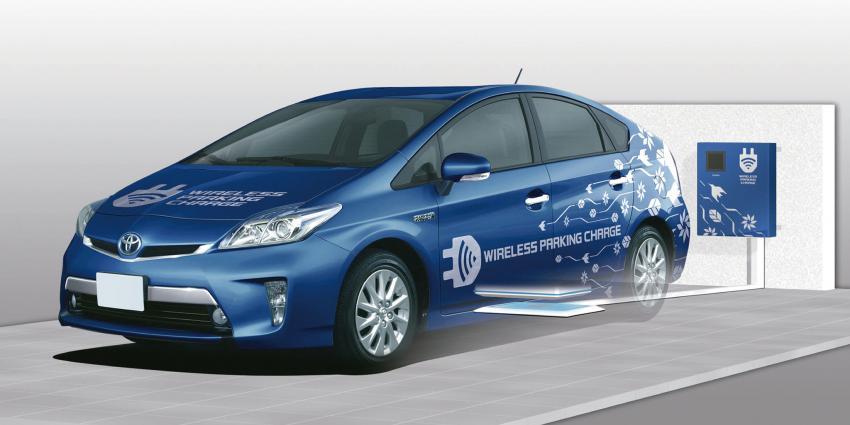 Toyota Start Proef Met Draadloos Opladen Blik Op Nieuws