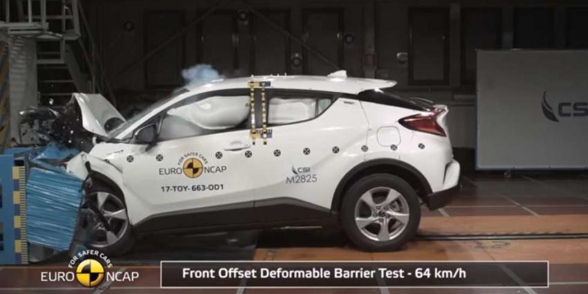 Toyota C-HR goed voor maximale score in Euro NCAP botsproef