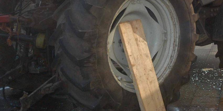 Vrouw komt om het leven bij ongeval met traktor