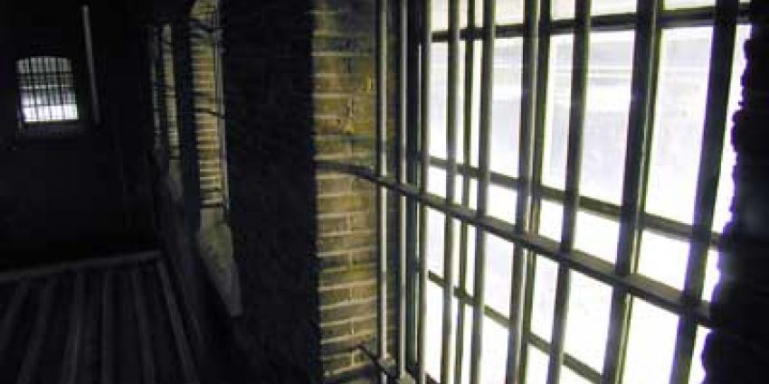 Foto van tralies gevangenis cel | Archief EHF
