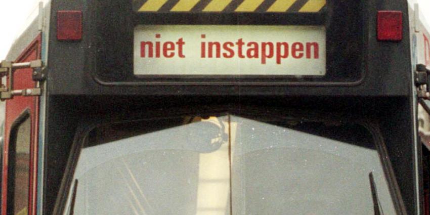 Man met nepvuurwapen in tram aangehouden