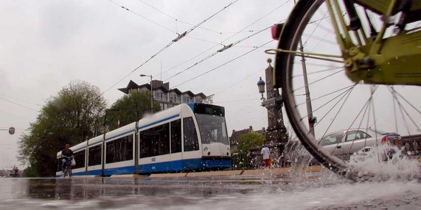 Tramverkeer Amsterdam na herstel stormschades bijna weer normaal